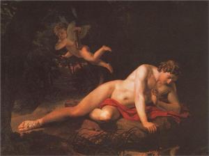 Karl-Bryullov-The-Narcissus-1819