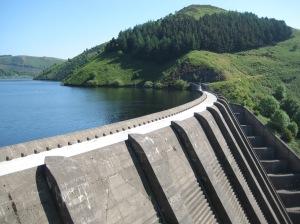 Clywedog Dam, Wales