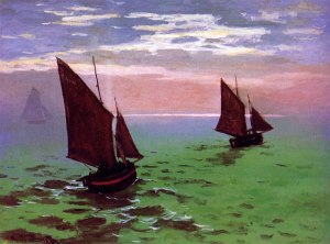 monet-boats-at-sea